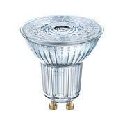 Osram Spot LED GU10 / PAR16 36° - 4,3W=50W (2700K, blanc chaud) - Osram transparent en verre