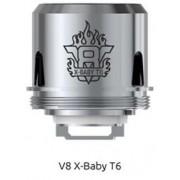 SMOK V8 X-Baby-T6 Sextuple Core изп. глава - 0.2 ома
