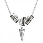 Colier cu cristale Swarovski FaBOS, Colourmix (Black patina) 7430-5798-03