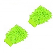 Car Cleaning Glove Cloth Micro Fibre Hand Wash(2 pcs)