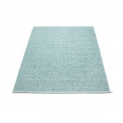 pappelina Svea Outdoor-Teppich - azurblau metallic / blass türkis 140 x 220cm