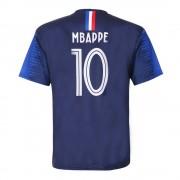 Holland Frankrijk Voetbalshirt Mbappé Thuis 2018-2020 Kids/Senior - 104