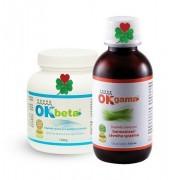 OK Beta+ 150 g. + OK Gama+ 115 ml ( cévy, klouby )