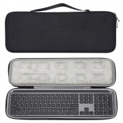 EVA Storage Case Travel Bag for Logitech MX Keys Advanced Wireless Illuminated Keyboard