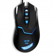Mouse Gaming USB 2000dpi 6 Tasti Nero Cobra EMS622