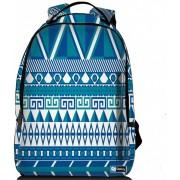 """Sleevy laptop rugzak 17,3"""" Deluxe blauw design"""