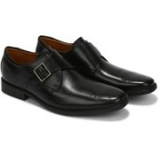 Clarks Tilden Style Monk Strap For Men(Black)