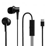 HEADPHONES, Xiaomi Mi Dual Driver, Microphone, USB Type C, Black (ZBW4435TY)