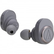 Audio Technica ATH-CKR7TW Bluetooth® HiFi in ear slušalice u ušima kontrola glasnoće siva