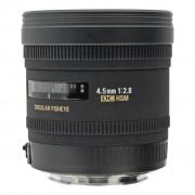 Sigma 4.5mm 1:2.8 AF EX DC HSM Zirkular Fisheye negro - Reacondicionado: muy bueno 30 meses de garantía Envío gratuito