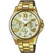 Дамски часовник CASIO SHEEN SWAROVSKI EDITION SHE-3806GD-9AUER