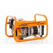 Generator de curent Ruris R-Power GE 2500 S, motor General Engine, 230 V, 7 kW, 3.6 l