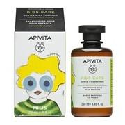 Kids shampoo para criança com camomila e mel 250ml - Apivita