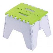 Basicwise Taburete Plegable para niños y Adultos, Color Verde