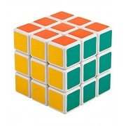 Babytintin High Speed Big Size Stickerless 3x3 Colors Magic Rubik Cube Puzzle Smooth Magic Rubik's Cube 3D - Brain Teaser Puzzles Recommended for 3 - 99 Years
