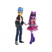 My Little Pony - Equestria Girls : 2 Poupées - Flash Sentry Et Poney Twilight Sparkle - Friendship Games