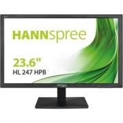 Монитор HANNSPREE HL247HPB, TFT, 23.6 inch, Full HD, D-Sub, HDMI, DVI-D, Черен