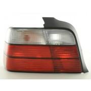 FK-Automotive feux arrières pour BMW Série 3 berline (type E36) An 91-98, rouge/blanc