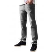 pantaloni URBAN CLASSICS - Stretch Denim - TB1437_grey