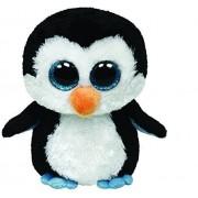 Ty - Ty36008 - Peluche - Beanie Boos - Moyen - Waddles Le Pingouin - 15 Cm