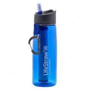 LiveStraw Wasserfilter-Flasche LifeStraw® Go, Blau