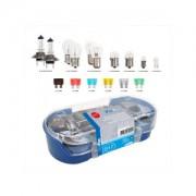Spare bulb kit H7 16-pieces