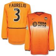Nike Valencia Shirt Uit 2002-2003 (Lange Mouwen) + F. Aurelio 3
