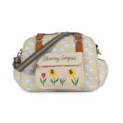 Pink Lining Changing Bag Blooming Gorgeous Garden Birds