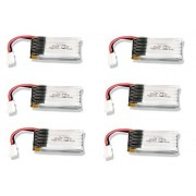 6 X Quantity Of Udi Rc U816 A 3.7v 350m Ah 25c Lipo Battery Rechargeable Power Pack Hm V100 D03 Bl Z 12 Fast Free Shipping From Orlando, Florida Usa!