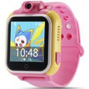 """Smartwatch iUni Kid730, 1.54"""", GPS, Bratara silicon (Roz)"""