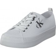 Calvin Klein Jeans Zolah White, Skor, Sneakers & Sportskor, Sneakers, Vit, Dam, 37