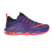 Nike Lebron XII Low Mens' Shoes Court Purple/Bright Crimson-Purple-Laser Orange 724557-565 (10 D(M) US)