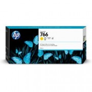 HP 766 300-ML YELLOW INK CRTG
