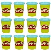 Play-Doh készlet 12 db kék tégely