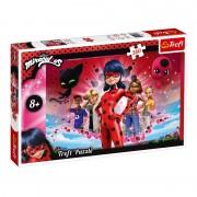 Puzzle copii Trefl, 260 piese, model Miraculous Ladybug