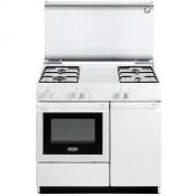 DeLonghi Sew 8540 N Cucina 86x50 4 Fuochi A Gas Forno Elettrico Classe B 40 Lit