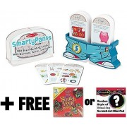 5th Grade Smarty Pants Card Game Set + FREE Melissa & Doug Scratch Art Mini-Pad Bundle [50760]
