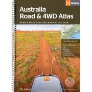 Wegenatlas - Atlas Australië - Australia Road and 4WD Atlas   Hema Maps