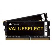 Memoire RAM Corsair Value Select SO-DIMM DDR4 8 Go (2 x 4 Go) 2133 MHz CL15 - Kit Dual Channel RAM DDR4 PC4-17000 - CMSO8GX4M2A2133C15