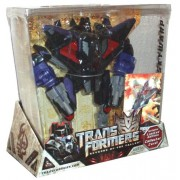 Transformers Movie Series 2 Revenge of the Fallen Exclusive Voyager Class 7-1/2 Inch Tall Robot Action Figure - SKYWARP with 2 Missile Launcher and 6 Firing Missiles Plus Bonus Limited Edition Collector Card
