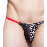 Mategear Mi Ujin Tapered Sides V Front Xpression Ultra Bikini Swimwear Snow Leopard/Black/Light Grey 1610102