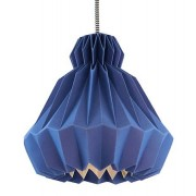 Droobski DressedUp Small taklampa - Deep blue