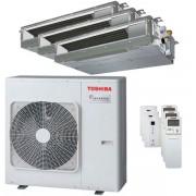 Toshiba Condizionatore Toshiba Canalizzabile U2 Trial Split 9000+9000+16000 Btu Inverter A+ Unità Esterna 7,5 Kw (RAS-3M26U2AVG-E-RAS-M10U2DVG-E-3-0AABD0)