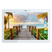 Kivors 3G Touch Tablet 10.1 Inch - Android 7.0-1G RAM + 16GB ROM - 2.5D Curve Screen - 800 x 1280 HD - Dual SIM Card Slots - Dual Camera - WiFi for Ki