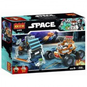 Planet of Toys 256 Pcs Space Building Blocks Set For Kids Children