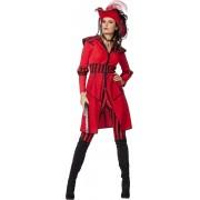 Piraat & Viking Kostuum | Lady Pirate Of The Seas | Vrouw | Maat 38 | Carnaval kostuum | Verkleedkleding