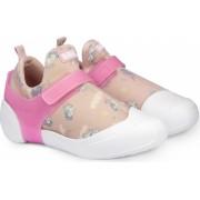 Pantofi Fetite BIBI 2way Roz Cu Imprimeu 31 EU
