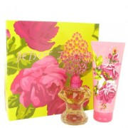 Betsey Johnson For Women By Betsey Johnson Gift Set - 3.4 Oz Eau De Parfum Spray + 6.7 Oz Body Lotio
