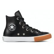 Converse All Stars Kids Leather 661823C Zwart-28