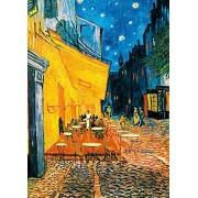 Ideal Decor Komar DM420 Terrasse De Cafe La Nuit Mural de pared (4 paneles)
